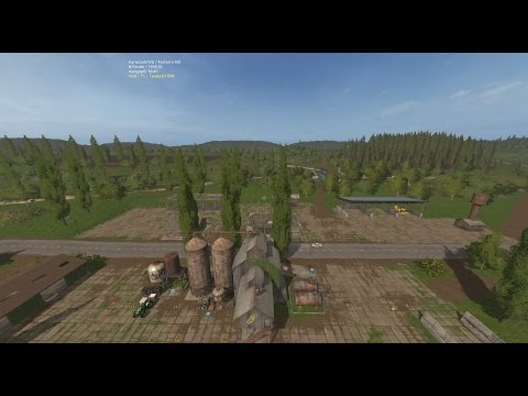 "Farming Simulator 17.Карта ""Сосновка Terra"".Стрим-кооп. №1."