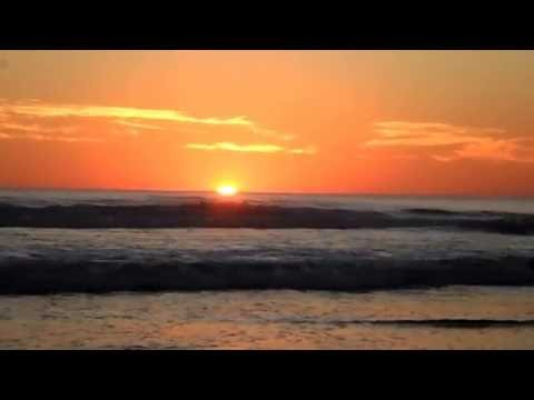 Sunset at Jiquiliste Nicaragua