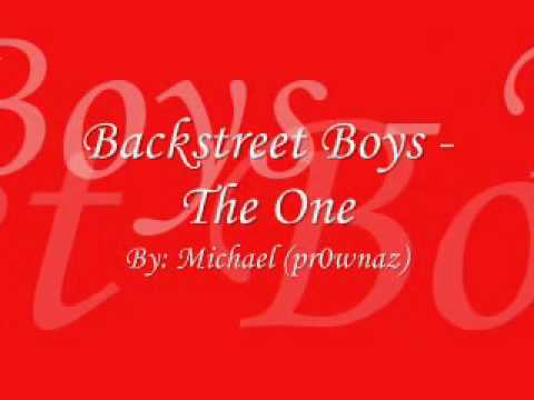Backstreet Boys The One Lyrics