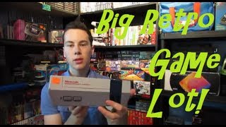 Big Retro Pickup Large Nintendo Lot! Mike's Game Pickups - The Retro Gamer Vlog