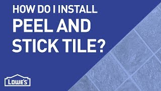 How Do I Install Peel-n-Stick Tile? | DIY Basics