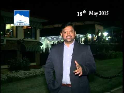 Zarpanshaw from singapore visited Kashmir during JK Travel Mart