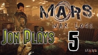 Mars War Logs Gameplay Walkthrough Part 5 - Killing Gigantic Moles - Let