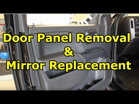 High Quality 2014 2017 GMC Sierra   How To Remove Inner Door Panel U0026 Side Mirror    YouTube