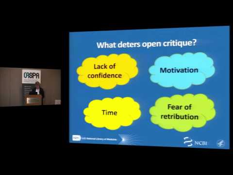 Keynote - Openness and consequences: Directions in pre- and post-publication peer review