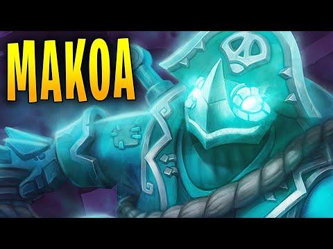 MAKOA MIGHTY MATCHES! | Paladins Gameplay