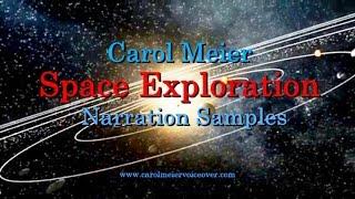 Space Exploration Narrator - Documentary narration samples
