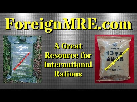 ForeignMRE.com -- A Great Resource for Finding International Rations!