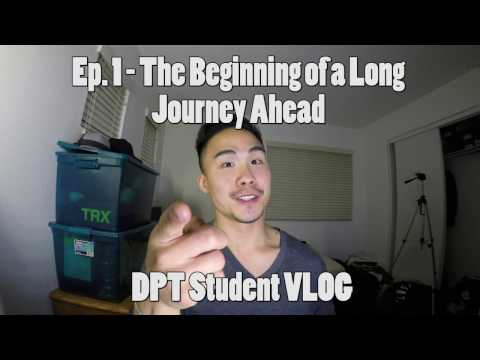 The Beginning of a Long Journey Ahead (Doctorate of Physical Therapy) | Ep.1 | APU DPT Student VLOG