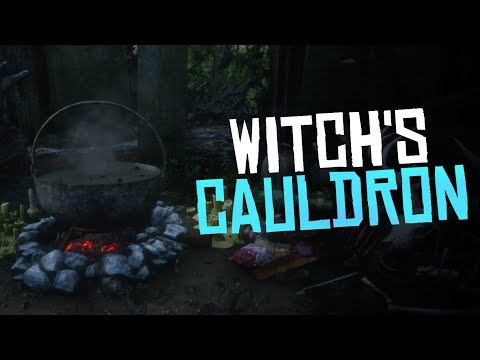 The Witch's Cauldron Easter Egg - Red Dead Redemption 2