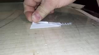 Планшетный режущий плоттер из ЧПУ станка(, 2017-02-15T15:38:24.000Z)