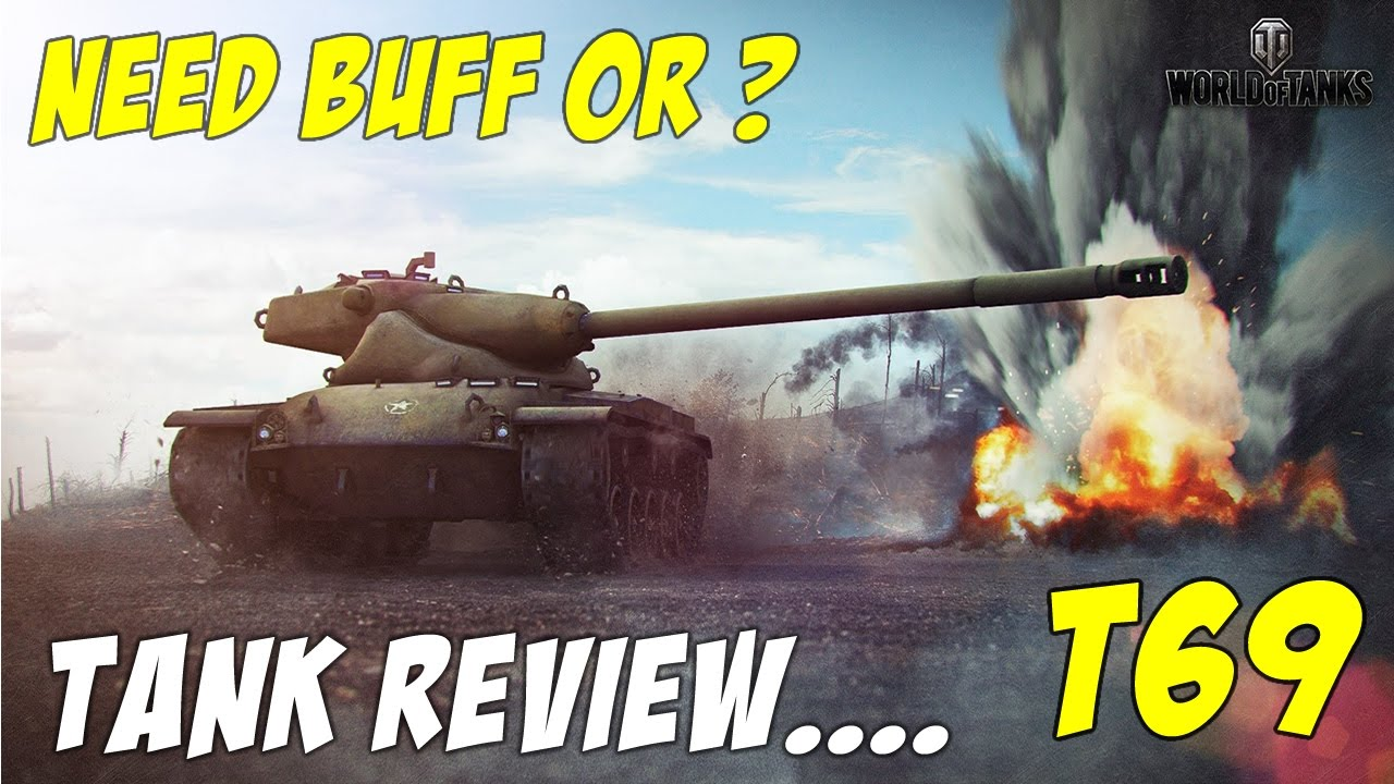BONUS CODE World of Tanks || T69 REVIEW || 8 Kills - 4.7k