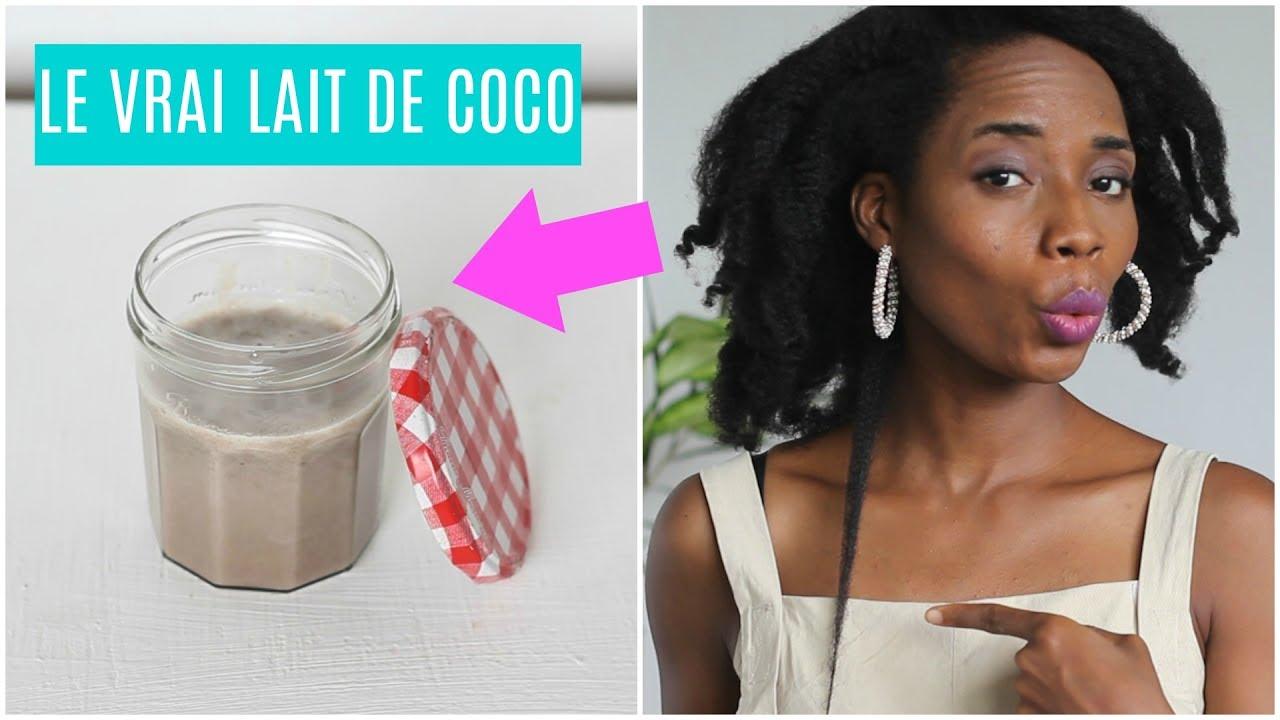 Faire pousser les cheveux avec lait de coco