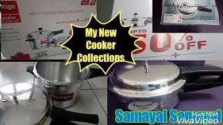 My New Cooker collections shopping haul video in Tamil