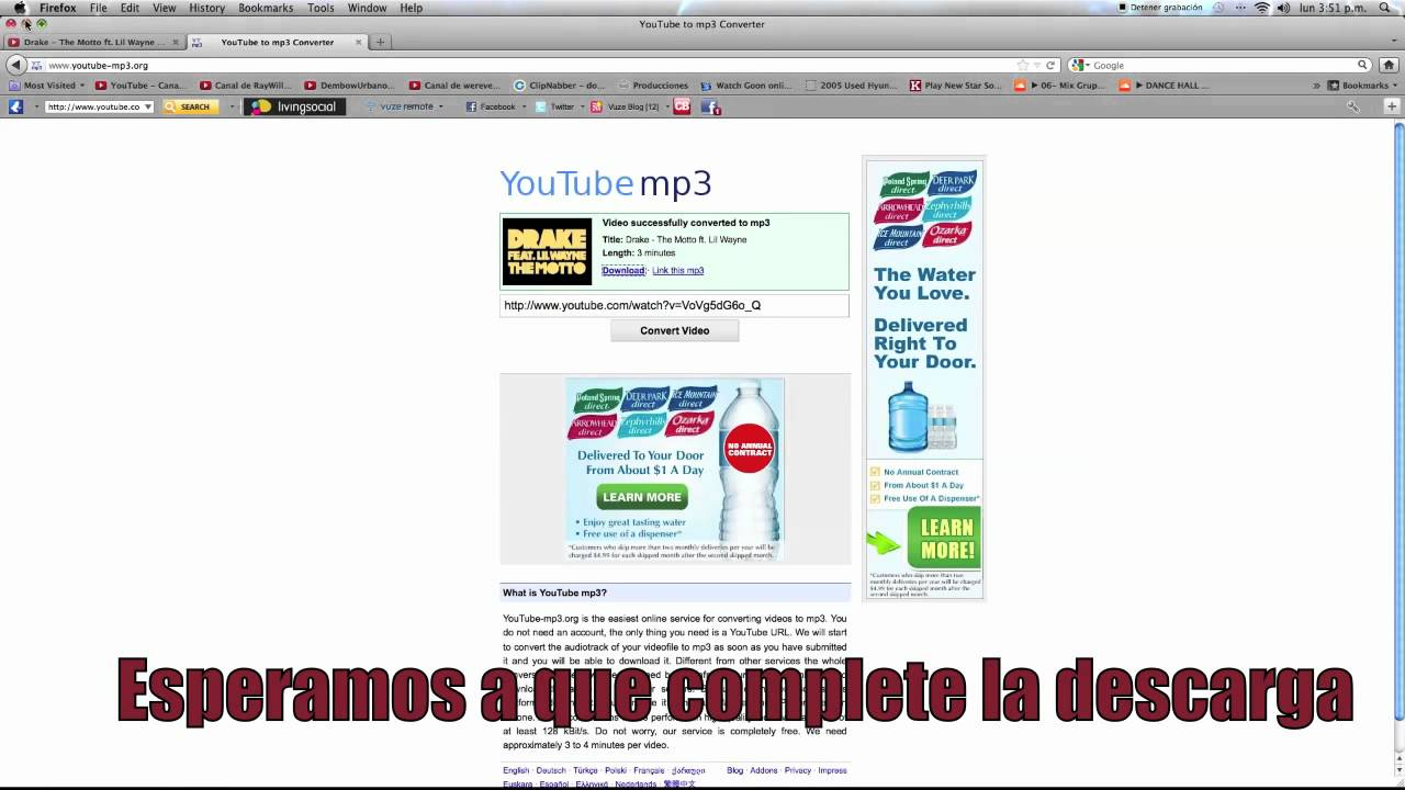 como bajar musica de youtube a mi pc mp3