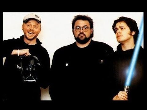 Kevin Smith, Edgar Wright, Simon Pegg & Jessica Stevenson on Spaced