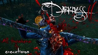 The Darkness II: All Finishers & executions 1440p