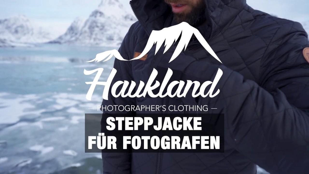 Haukland Explorer 5 in 1 Jacke für Fotografen 2.0 Gelb