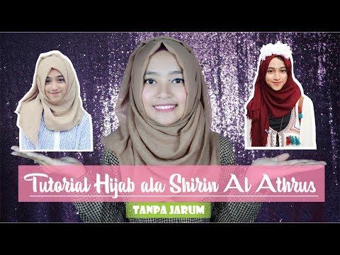Tutorial Hijab Ala Shirin Al Athrus (Shireeenz) Tanpa Jarum | Seftin Prahaswsati