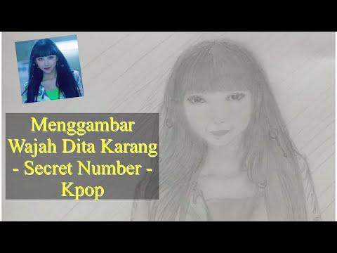 Drawing Dita Karang - Secret Number - YouTube