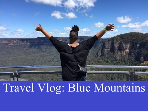 Travel Vlog - Lydia in the Blue Mountains, Katoomba, Australia - katoomba