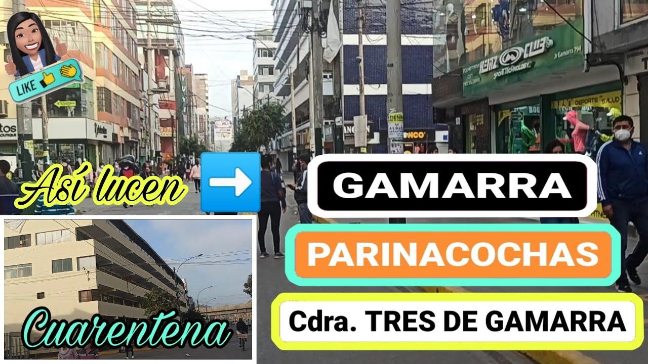 GAMARRA, PARINACOCHAS & Cdra TRES AÚN EN CUARENTENA REABRE SUS PUERTAS AL PÚBLICO