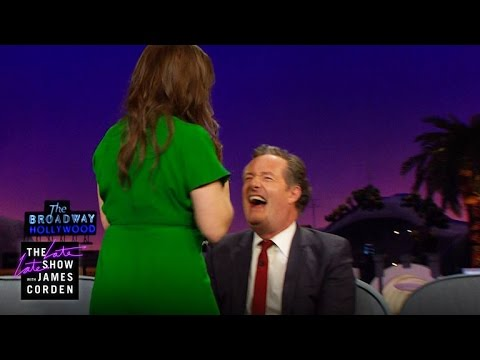 Thumbnail: #Cleavagegate: Mayim Bialik Flashes Hers to Piers Morgan