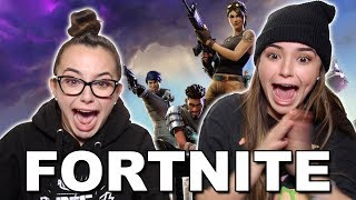 First Time Playing Fortnite - Merrell Twins