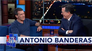 Antonio Banderas: Your Heart Is A Warehouse For Feelings