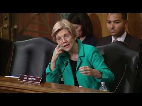 Sen  Elizabeth Warren Banking Committee Hearing on Iran Sanctions