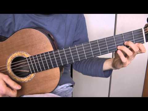 comment jouer mon amie la rose de fran oise hardy la guitare 2 2 cours de guitare pour d butant. Black Bedroom Furniture Sets. Home Design Ideas