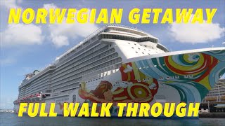 Norwegian Getaway Review - Full Walkthrough - Ship Tour