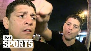 Nick Diaz Jumped in Las Vegas, Huge Brawl Breaks Out by : TMZSports