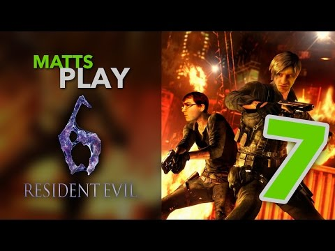 Matts Play Resident Evil 6 - Part 7