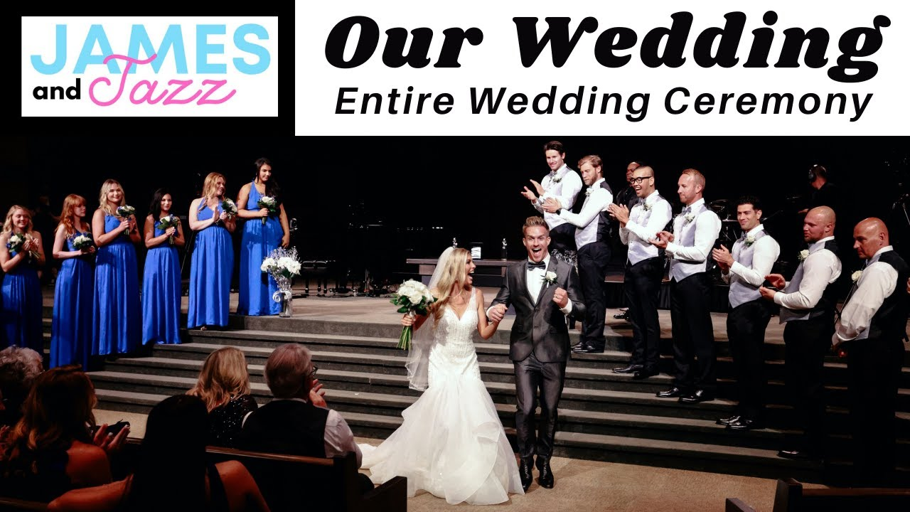 Our Wedding || Entire Wedding Ceremony || Jesus at the Center of Our Marriage | Our Start to Forever
