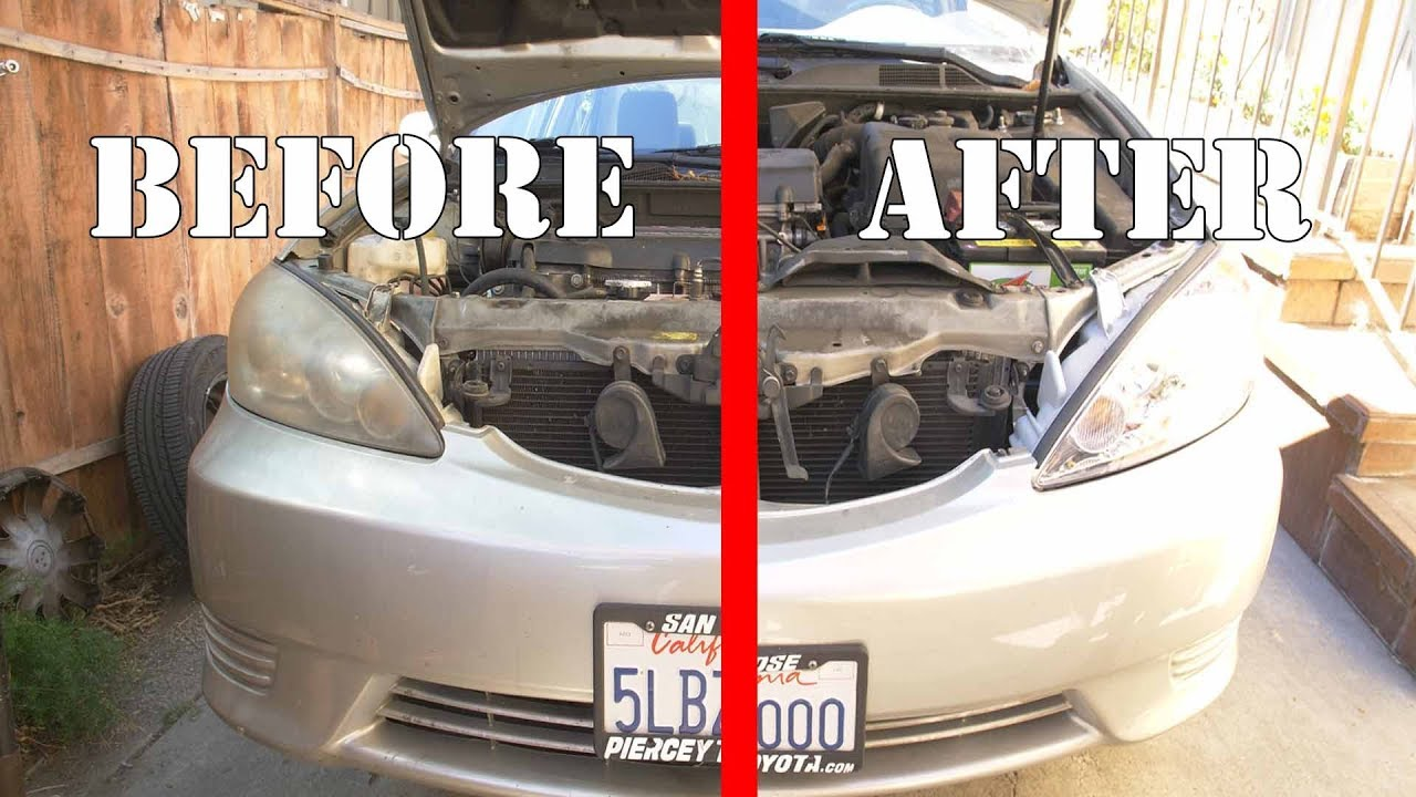 2002 toyota camry headlight assembly