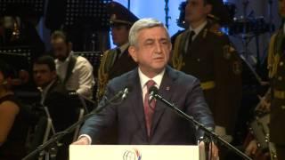 Սերժ Սարգսյանը ներկա է եղել  «Հայկյան» մրցանակաբաշխությանը