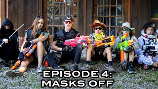 ELITE NERF STRIKE | Episode 4: Masks Off (Nerf War Movie Finale!)