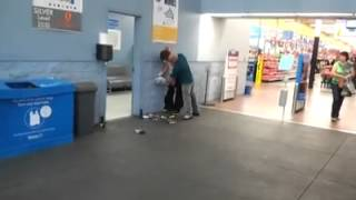 Shoplifter gets caught at Walmart and things get a little weird...