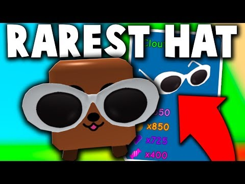 Noob With The Clout Goggles Godly Rarest Hat Roblox Bubble