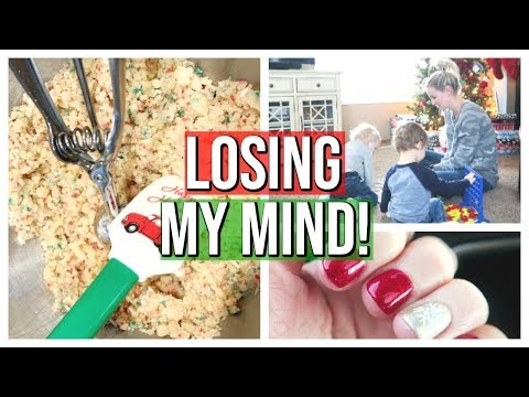 LOSING MY MIND! | DAY IN THE LIFE OF A STAY AT HOME MOM | VLOGMAS 2018 #29