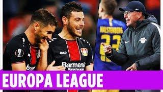 Leverkusen und Leipzig siegen in der Europa League