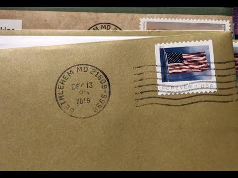Bethlehem, MD Post Office Receives Mail Worldwide