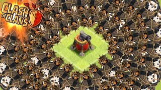 "Clash of Clans - ""SWARM THE AIR SWEEPER"" Max Balloons Vs Air Sweeper! Who Wins The Battle?"