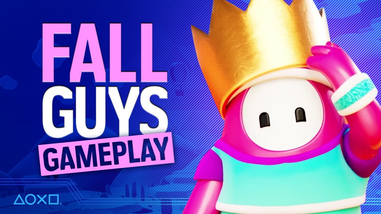 Fall Guys PS4 Gameplay - Access vs The World