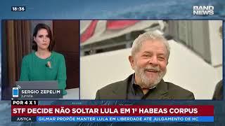 STF decide que Lula deve continuar preso