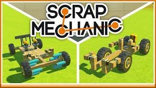 BIL UTAN MOTOR! - Scrap Mechanic Tävling med Toffe!