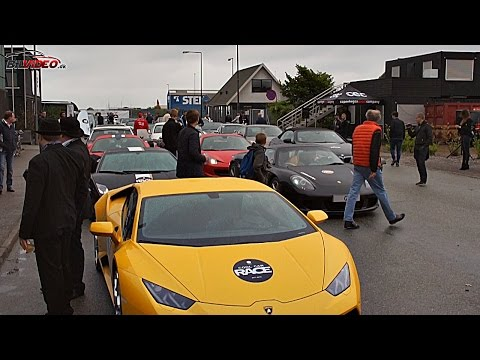Cool Car Race 2015 - Start from Copenhagen.