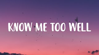 """New Hope Club, Danna Paola - Know Me Too Well (Lyrics) """"i spend my weekends"""" [TikTok Song]"""