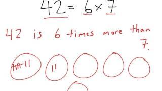 [4.OA.1-1.0] Multiplication as Comparison - Common Core Standard